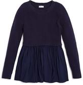 Splendid Girls' Textured Knit & Woven Tunic - Sizes 7-14