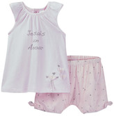 Petit Lem Tunic & Woven Short Set (Baby Girls)