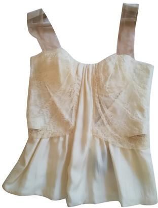 La Perla White Lace Top for Women