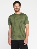 Old Navy Go-Dry Performance Stretch Tee for Men