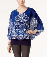 Joseph A Printed Cape Top