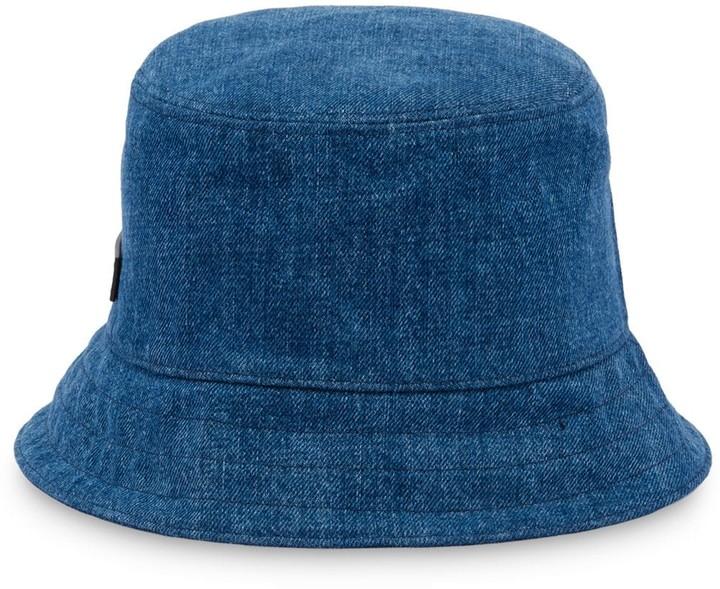 6f21fa3d4 logo patch bucket hat