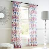 Pier 1 Imports Watercolor Floral Sheer Curtain