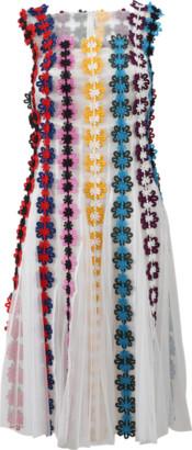 Mary Katrantzou Nash Guipure Lace Dress