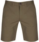 Farah Hawk Chino Shorts Green