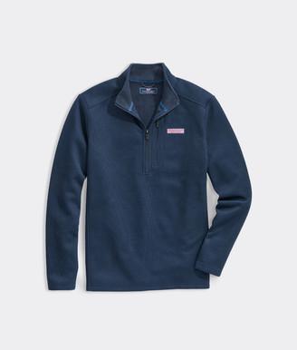 Vineyard Vines Big & Tall Mountain Sweater Fleece 1/4-Zip