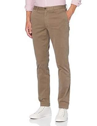 Tommy Hilfiger Men's Denton Th Flex Satin Chino GMD Trouser,W32/L32 (Size: 3232)