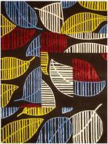 Cornermill Leafy Wool Rug, 160x230cm