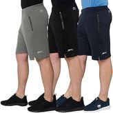 Slazenger Mens Sportswear Shorts Fleece Casual Active Wear Casual Gym Bottoms