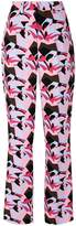 Marni abstract print trousers