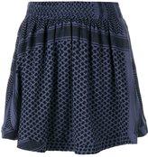 Cecilie Copenhagen Keffiyeh printed skirt