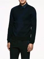 Calvin Klein Platinum Jacquard Merino Sweater