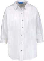 MiH Jeans Poets striped cotton-poplin shirt