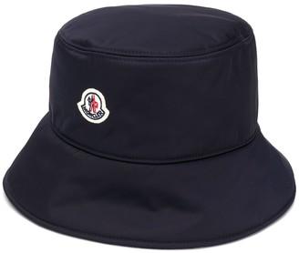 Moncler Logo Patch Bucket Hat
