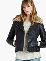 Lucky Brand Jacket With Fur Collar