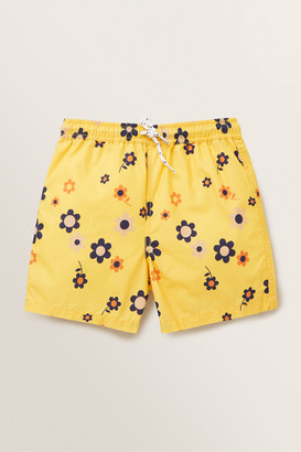 Seed Heritage Floral Print Board Short