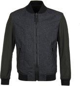 Boss Bavott Khaki & Grey Reversible Bomber Jacket