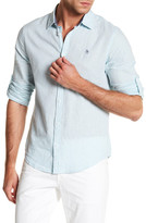 Original Penguin Roll Sleeve Heritage Slim Fit Shirt
