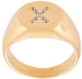 Nialaya Jewelry pave signet ring