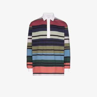J.W.Anderson Striped rugby shirt