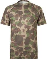 Burton Power Grid Camouflage-print Jersey T-shirt - Green