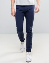 Ps By Paul Smith Slim Fit Jeans Navy Overdye