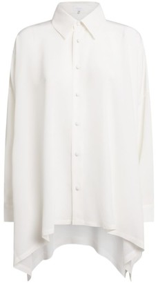 eskandar Silk Asymmetric Shirt