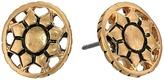 The Sak Engraved Open Stud Earrings