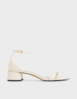 Charles & Keith Ankle Strap Heeled Sandals