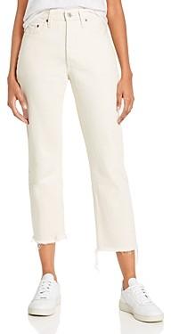 Levi's 501 Crop Jeans in Neutral Ground