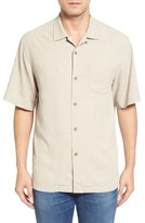 Tommy Bahama Men's Big & Tall Islander Fronds Silk Camp Shirt