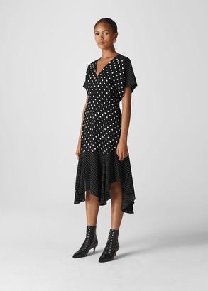 Enise Multi Spot Dress