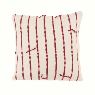 Boon & Up Boo Cushion In Russet Stripe