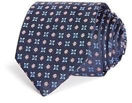 HUGO BOSS Square Florette Silk Classic Necktie