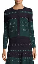 Yigal Azrouel Cord Stitched Cardigan
