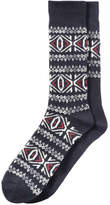 Joe Fresh Men's 2 Pack Fair Isle Socks