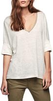 Gerard Darel Tischa Linen T-Shirt