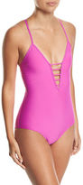 Athena Soft-Cup Strappy One-Piece Swimsuit