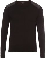 Belstaff Kerrigan Crew-neck Wool Sweater