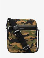 Michael Kors Grant Medium Camouflage Bonded-Canvas Flight Bag