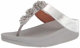 FitFlop Women's Galaxy Toe-Thong Wedge Sandal