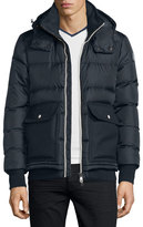 Moncler Rabelais Quilted Down Jacket, Navy