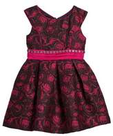 Iris & Ivy Floral Jacquard Dress