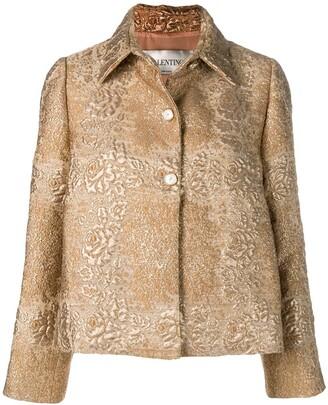 Valentino Floral Brocade Jacket