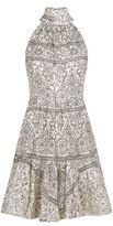 Zimmermann Tiered Bow Neck Dress