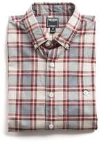 Todd Snyder Button-down Collar Shirt in Red Plaid