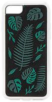Zero Gravity Fern Embroidered iPhone 6/7 Case in Black.