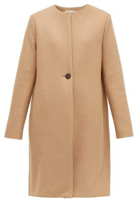 Harris Wharf London Single-breasted Pressed-wool Coat - Womens - Camel