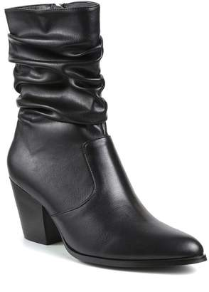 Catherine Malandrino Sparky Slouchy Stack Heel Bootie