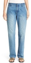 Tibi Women's Slouchy Denim Pants